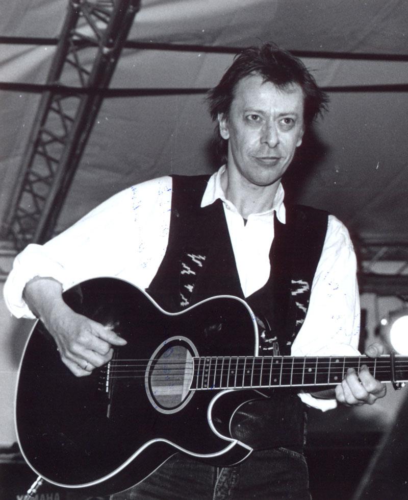Rio Reiser sein letztes Konzert 1996